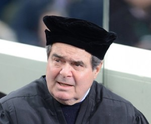 Scalia inauguration cap